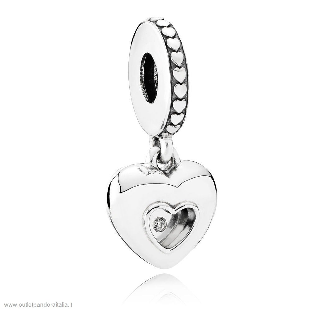 Completa Saldi Pandora Contemporaneo Charms 2017 Club Charm Diamante