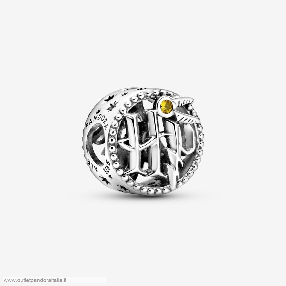 Completa Saldi Pandora Harry Potter, Ciondolo Con Icone Di Harry Potter Traforato