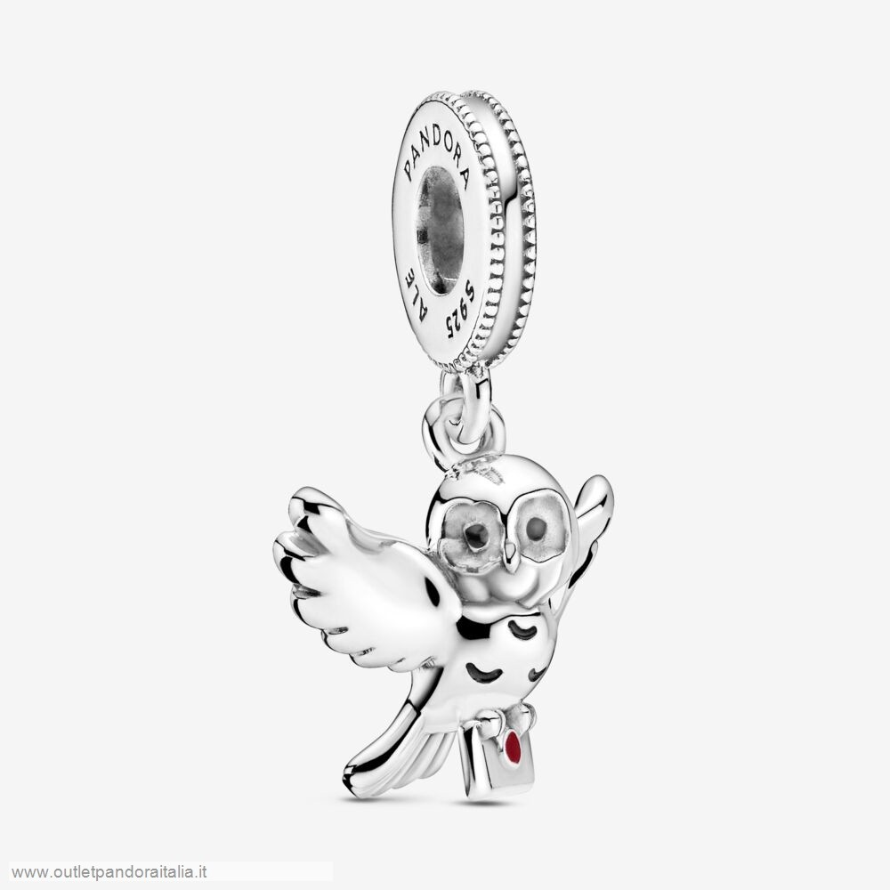 Completa Saldi Pandora Harry Potter, Hedwig Owl Dangle Charm
